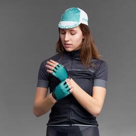 GripGrab Rouleur Guantes cortos acolchados Mujer, green